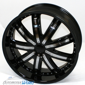 20 Fusion Black Wheels Rims inch BMW 328 cts G8 5x120