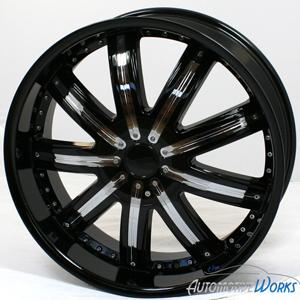 20 Fusion Black Wheels Rims inch BMW 328 cts G8 5x120