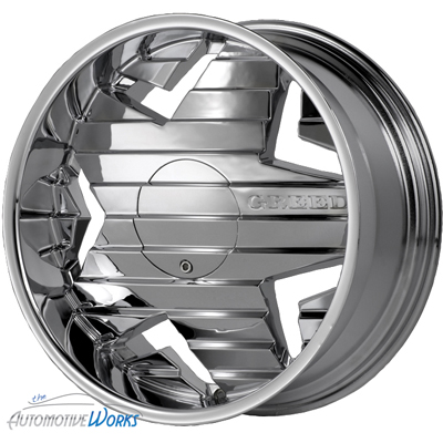24 Greed Chrome Wheels Rims inch Chevy Caprice 5x127