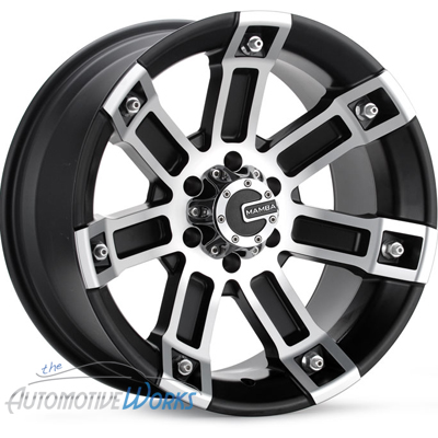 20x9 Mamba M1 6x135 0mm Black Machined Wheels Rims inch 20