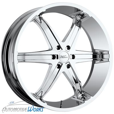 20x9 Milanni Kool Whip 6 5x120 65 5x4 75 0mm Chrome Wheels Rims inch